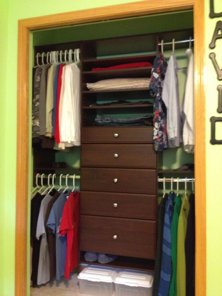 easy track customizable closet system closet revamp pinterest. Black Bedroom Furniture Sets. Home Design Ideas