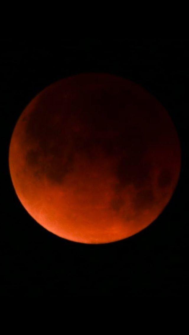 Blood moon over Lake Havasu City, AZ.