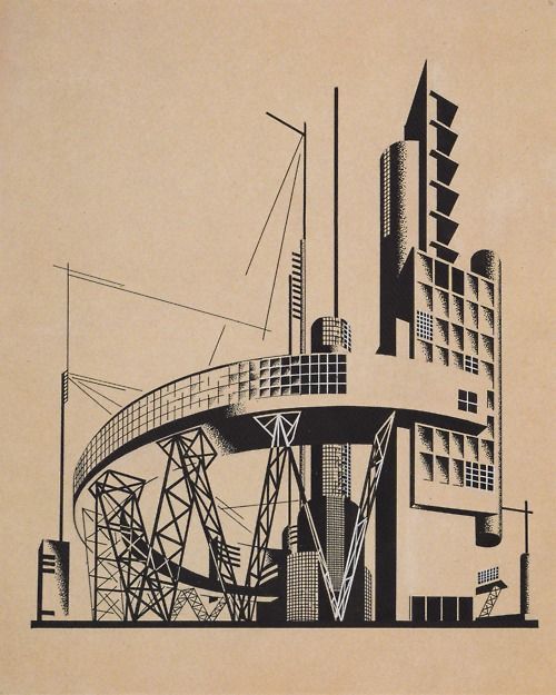 I. Chernikov, The Construction of Architectural and Machine Forms, 1930