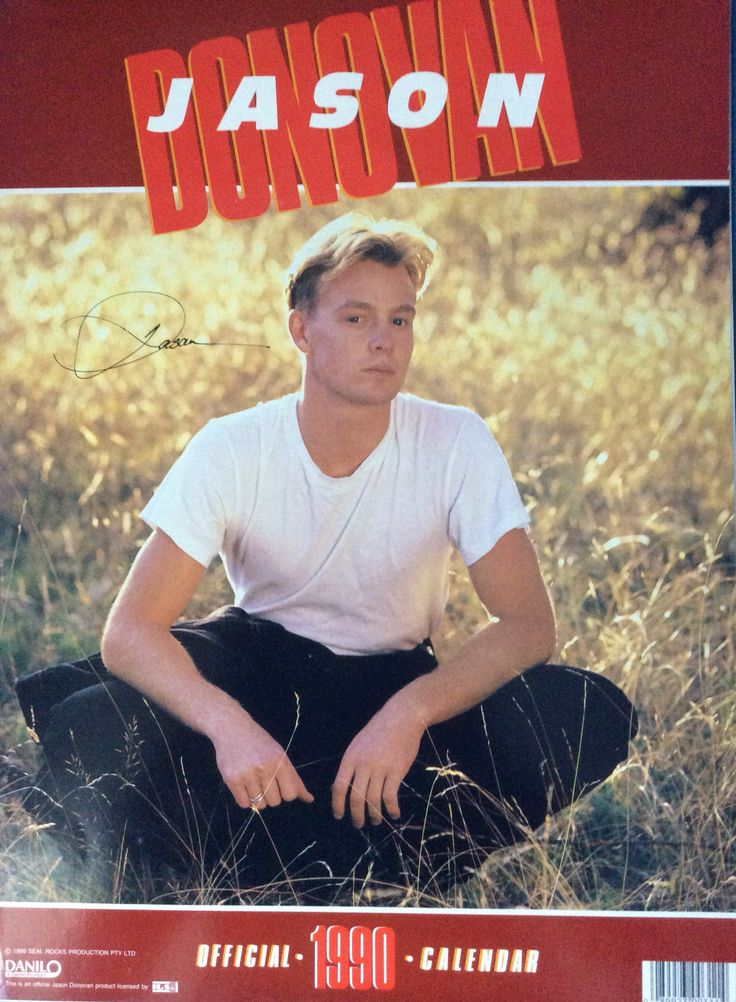 Jason Donovan - Official Calendar 1990