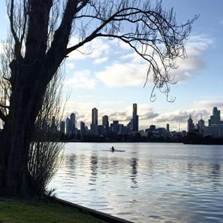 City views, Albert Park Lake, Melbourne