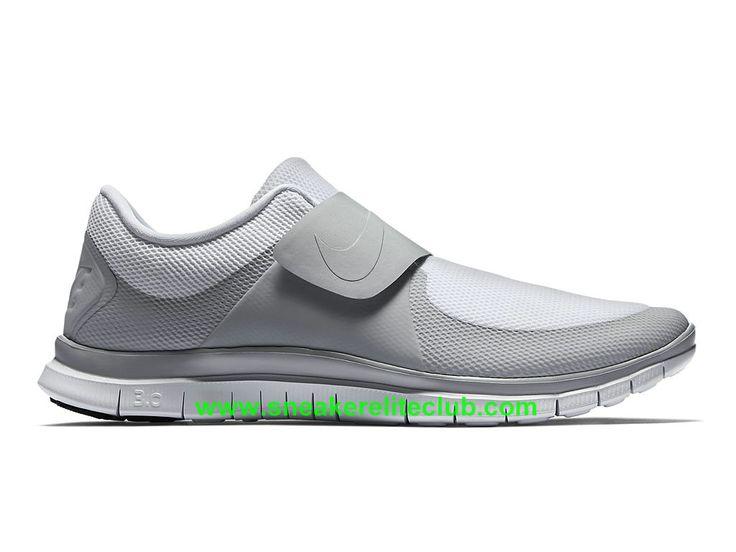 Nike Free Socfly Chaussure De Course Pas Cher Pour Homme Gris Blanc 724851-111-1603192049 - Chaussure Nike BasketBall Magasin Pas Cher En Ligne!