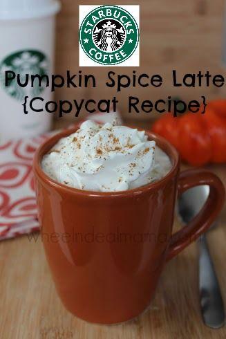 Starbucks Pumpkin Spice Latte Copycat Recipe
