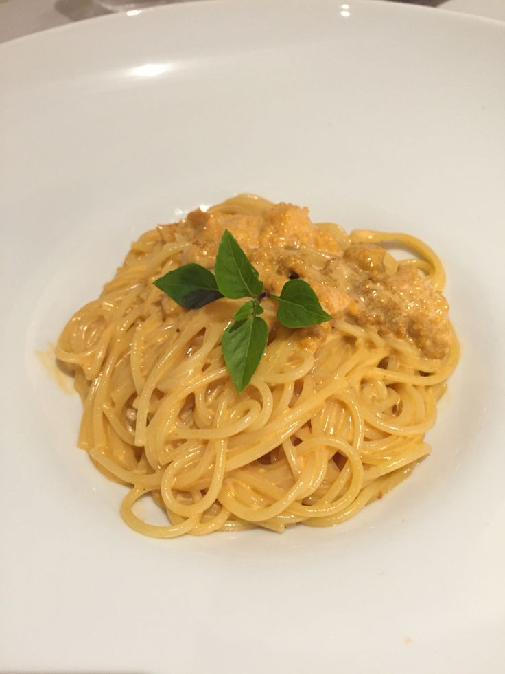 Uni spaghetti. Holy moly!