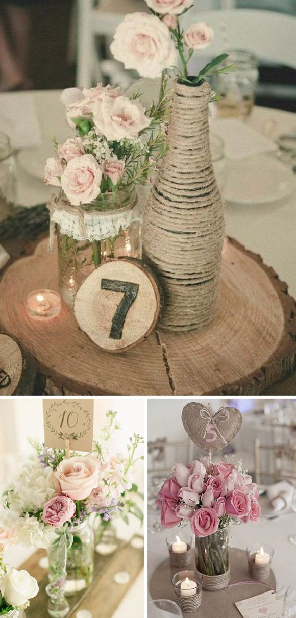 651 best images about wedding decor ideas on pinterest mesas vintage and wedding - Diy para bodas ...