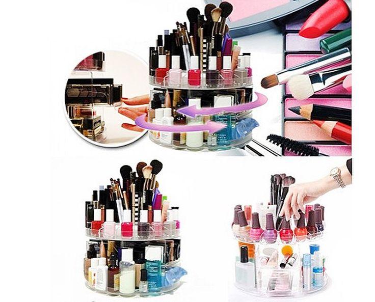 Kozmetik ürünleriniz artık bir arada! 200 ürün alan ve 360 derece dönen Harmony Makyaj Malzemesi Standı sadece 53.90 TL! #Dekorazoncom >> http://www.dekorazon.com/makyaj-malzemesi-standi-360-derece-detayi-175917?utm_source=pinterest&utm_medium=post&utm_campaign=harmony-makyaj-malzemesi-standi