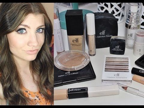 e.l.f. Cosmetics Full Face Makeup Tutorial