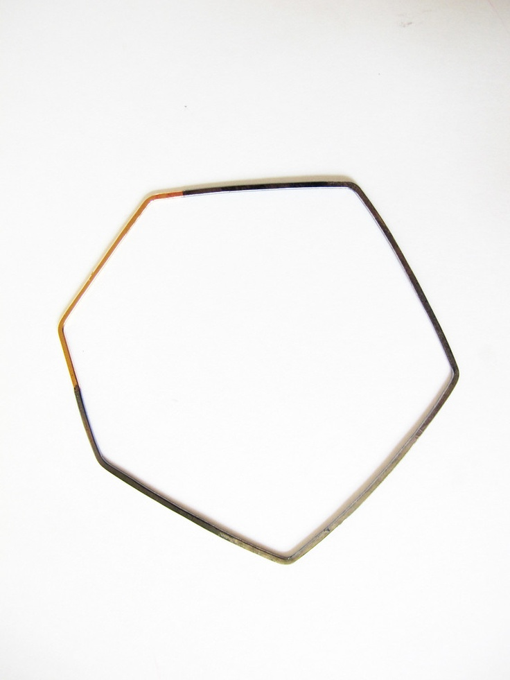 Better Late Than Never Two Tone Bangle
