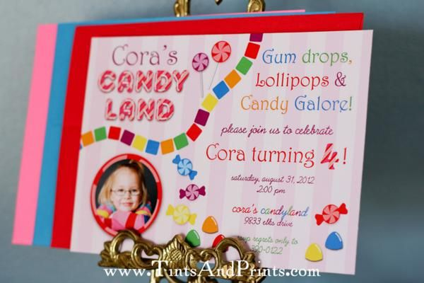 Rainbow Candy Land Girl Sweet Shop Birthday Party Planning Ideas