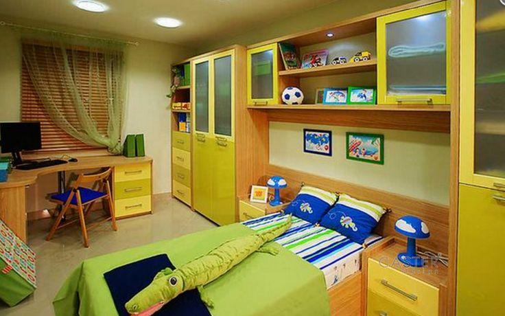 Nábytek, postel, skříně, komody, Caster CZ, dětský pokoj
