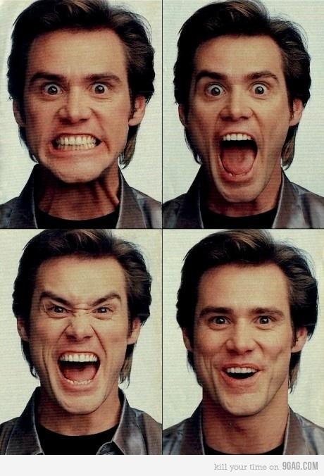 Jim Carrey. A famous Canadian actor.