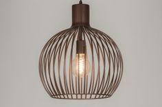 Hanglamp 11058: Modern, Eigentijds Klassiek, Landelijk, Rustiek