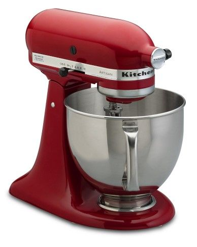 A good mixer is another fairly big investment for your kitchen, but KitchenAid is durable.  Explore other manufacturers as well, and make sure you check out available accessories and capabilities.  If you can set aside a work/storage area in your kitchen for your mixer and food processor you will use them more often - no dragging them out from beneath the counters which is a drag.