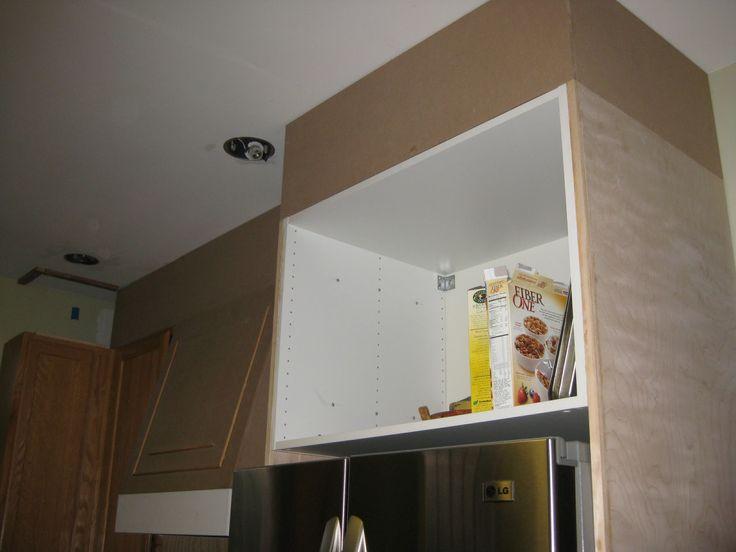 Remodelando la Casa: Closing the Space above the Kitchen Cabinets