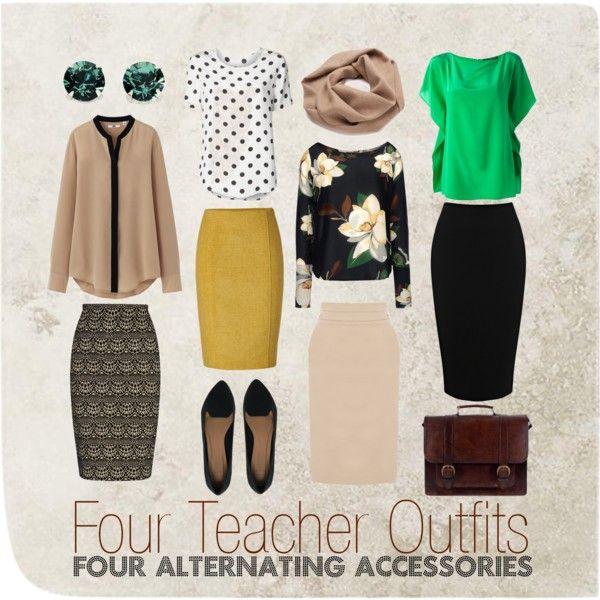 """What Teachers Wear 1"" #teacherclothes #teacheroutfit #whatteacherswear"