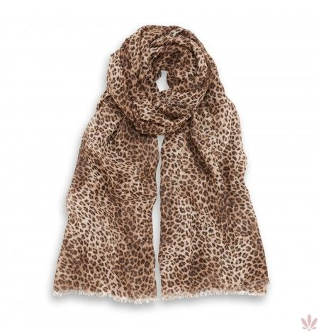 Spotted You Natural Light Shawl. Luxury high quality made in Italy by Fulards free shipping.