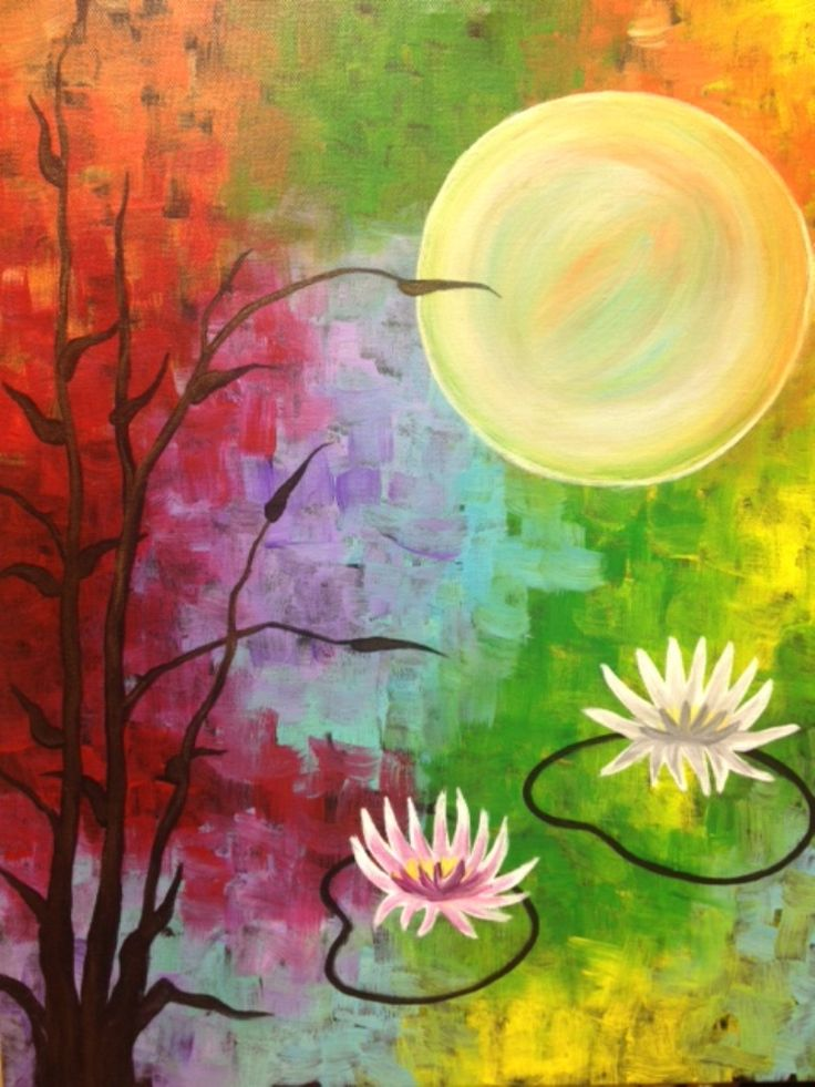 I am going to paint Serenity Pond