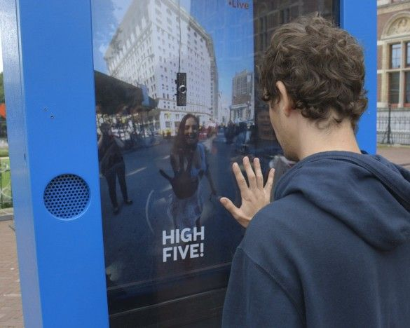 KLM Royal Dutch Airlines - Social Needs & Achievement - The brand persuades consumers to spontaneously try out their interactive installation by linking the prize (free plane tickets) to social interactions between the users at each screen. One installation was in NYC and the other in Amsterdam, and if the two people on each end could create the perfect high five with each other, they would win. By giving them a common goal, the consumers would feel a sense of achievement once they won.
