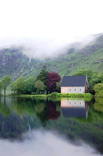 Gougane Barra Reflections, West Cork, on 4 July. Image: Gougane Barra Hotel TheJournal.ie