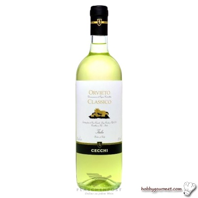 Just arrived: Orvieto Classico!   A dry, peach scented wine with clean crisp profile and moderate acidity.