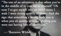 For more information about Thornton Wilder: http://www.Dailyliteraryquote.com/dlq-literature-magazine/  Courtesy of http://www.DailyLiteraryQuote.com.  More quotes and social literary discussions at CulturalBook.com