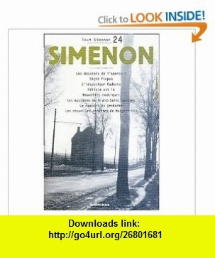 Maigret et lA Jeune Morte (French) (French Edition) (9780685113127) Georges Simenon , ISBN-10: 0685113124  , ISBN-13: 978-0685113127 ,  , tutorials , pdf , ebook , torrent , downloads , rapidshare , filesonic , hotfile , megaupload , fileserve