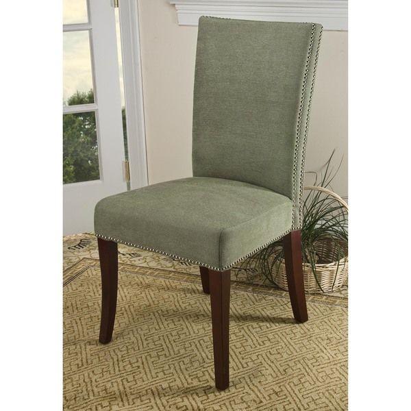 Safavieh En Vogue Dining Metro Stone Sage Side Chairs (Set of 2)                                                                                                                                                                                 Más