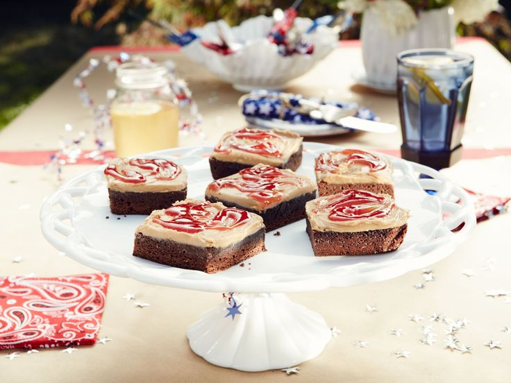 150 best brownies images on pinterest dessert recipes candy bars chocolate brownies with peanut butter and jelly frosting recipe from patricia heaton parties via food network forumfinder Image collections