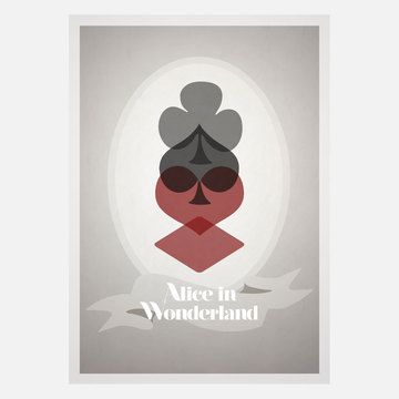 Wonderland 18x24 now featured on Fab.
