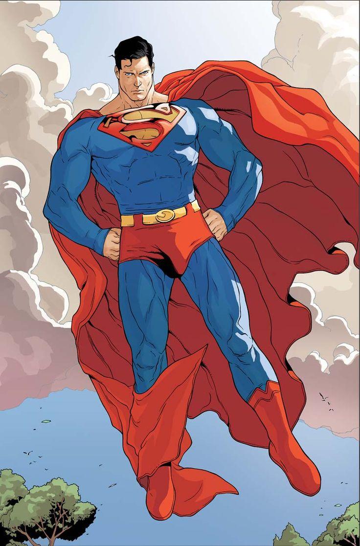"""""""Superman"""" por Renato Guedes ...este si que es el auténtico Superheroe!!!"""