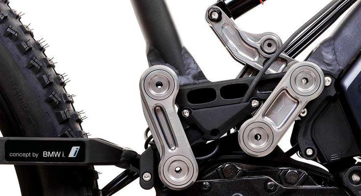 HNF Heisenberg develops premium electric mountain bike with BMW i tech