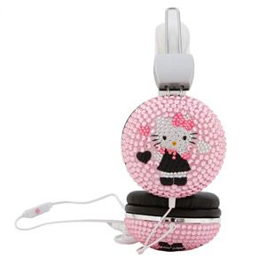 Hello Kitty Bling Headphones i want them!!!