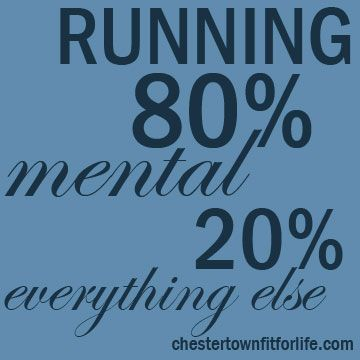 Running is a mental sport | Chestertown Fit for LifeChestertown Fit for Life