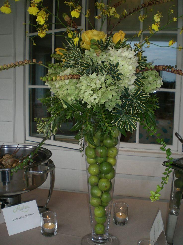 #floral arrangement #limes