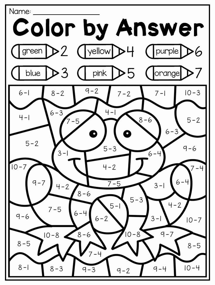 Spring Math Coloring Sheets Luxury Spring Kindergarten Math And Literacy Worksheet Pack Spring Math Kindergarten Kindergarten Math Review Literacy Worksheets