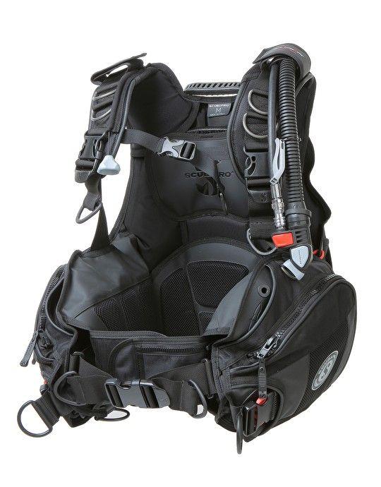 Scubapro X-Black BCD - Scubapro X-Black BCD - Front