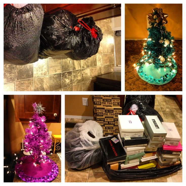 My donations to charity. | Holiday, Christmas tree, Decor