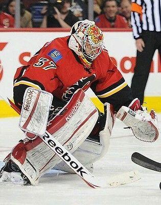 Barrhead Hawks Game worn jersey. MHA Hockey Alberta Leland Irving Calgary Flames