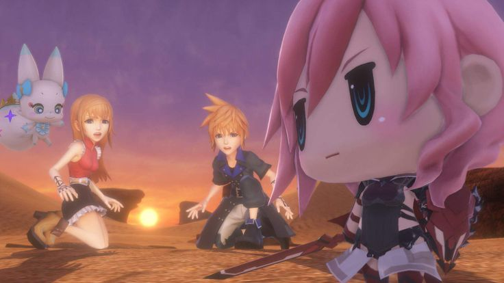 'World of Final Fantasy' Cinematic Opening Released, Demo Announced - http://motortalks.com/world-final-fantasy-cinematic-opening-released-demo-announced/