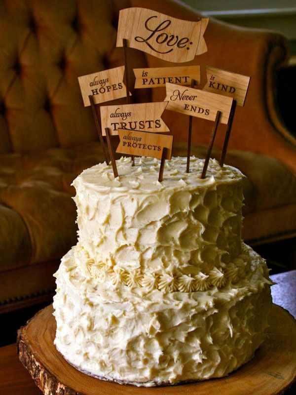although this is a wedding cake topper I like the idea for an engagement too