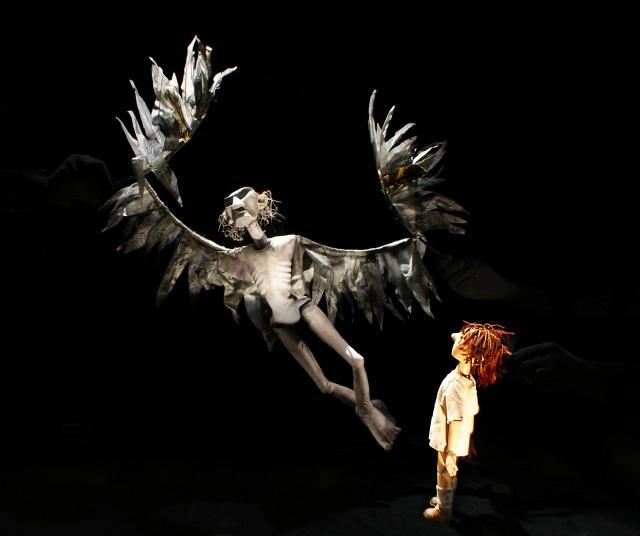 'A Very Old Man With Enormous Wings' A Little Angel and Kneehigh production at BAC - SHOWstudio - The Home of Fashion Film