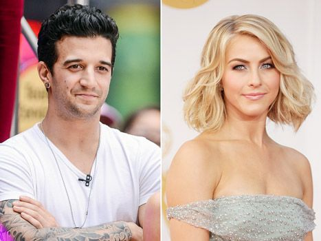 Julianne Hough and Mark Ballas. They dated for almost 5 years!!!