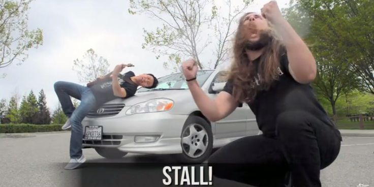 VolksMasters: Watch: Learn to Drive a Stick with Death Metal