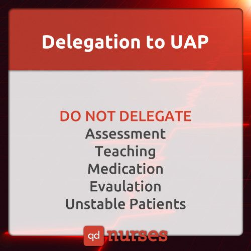 Delegation to UAP