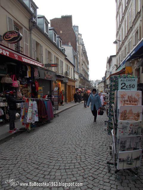 Babooshka Style - Blog modowy: Wzgórze Montmartre Paris