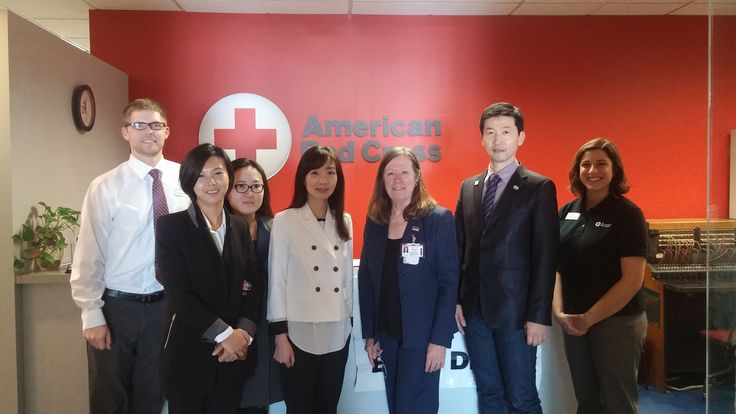 Working Together To Ensure Public Safety from Korea at #AmericanRedCross  #IVLP #GlobalTiesArizona