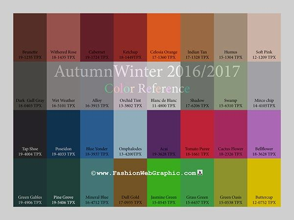 WOMEN FASHION TRENDS 2017: Autumn/Winter 2016-2017 Vision & Color Trends