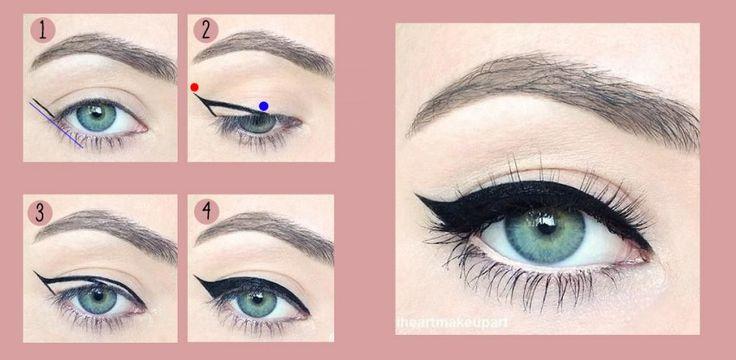 Eyeliner auftragen kleine Augen