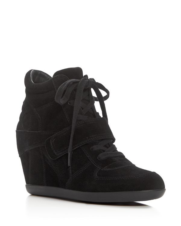 Ash Bowie Lace Up Wedge Sneakers