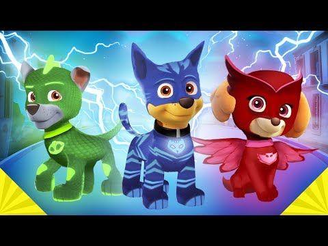 La Patrulla canina se disfraza de los Pj Masks Heroes en pijamas ⚡ con Chase, Gatuno y todos - VER VÍDEO -> http://quehubocolombia.com/la-patrulla-canina-se-disfraza-de-los-pj-masks-heroes-en-pijamas-%e2%9a%a1-con-chase-gatuno-y-todos    Ryder transforma a los personajes de la patrulla canina en los Pj Masks de forma magica. Animación con todos los personajes de las dos series de televisión Créditos de vídeo a Popular on YouTube – Colombia YouTube channel